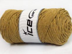 250 gr ICE YARNS MACRAME COTTON BULKY (100% Cotton) Yarn Light Olive Green