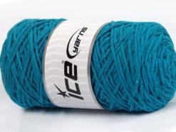 250 gr ICE YARNS MACRAME COTTON BULKY (100% Cotton) Yarn Turquoise