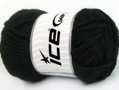 Lot of 2 x 200gr Skeins Ice Yarns ATLAS JUMBO Hand Knitting Yarn Black