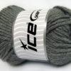 Lot of 2 x 200gr Skeins Ice Yarns ATLAS JUMBO Hand Knitting Yarn Grey