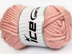 Lot of 2 x 200gr Skeins Ice Yarns ATLAS JUMBO Hand Knitting Yarn Light Pink