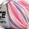Lot of 8 Skeins Ice Yarns MONACO Hand Knitting Yarn Pink Shades Lilac