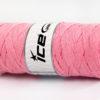 250 gr ICE YARNS JUMBO COTTON RIBBON (100% Recycled Cotton) Yarn Light Pink