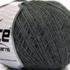 Lot of 8 Skeins Ice Yarns ACRYL CORD FINE Hand Knitting Yarn Grey