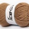 Lot of 4 x 100gr Skeins Ice Yarns ALPACA CLASSIC BULKY (25% Alpaca 25% Wool) Yarn Camel