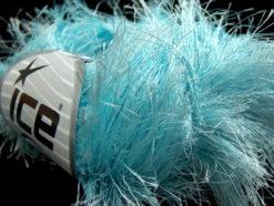 Lot of 8 Skeins Ice Yarns LONG EYELASH Hand Knitting Yarn Light Turquoise
