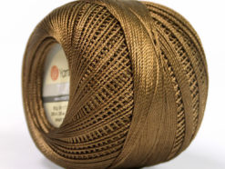 Lot of 6 Skeins YarnArt TULIP (100% MicroFiber) Hand Knitting Yarn Brown