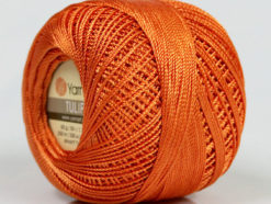 Lot of 6 Skeins YarnArt TULIP (100% MicroFiber) Hand Knitting Yarn Salmon