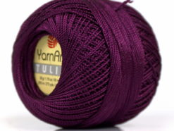 Lot of 6 Skeins YarnArt TULIP (100% MicroFiber) Hand Knitting Yarn Maroon