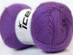 Lot of 4 x 100gr Skeins Ice Yarns MERINO GOLD (60% Merino Wool) Yarn Lavender