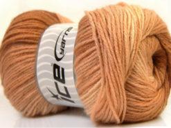 Lot of 4 x 100gr Skeins Ice Yarns MAGIC LIGHT Hand Knitting Yarn Brown Shades