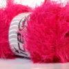 Lot of 4 x 100gr Skeins Ice Yarns EYELASH 100GR Hand Knitting Yarn Gipsy Pink