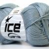 Lot of 6 Skeins Ice Yarns CAMILLA COTTON (100% Mercerized Cotton) Yarn Grey