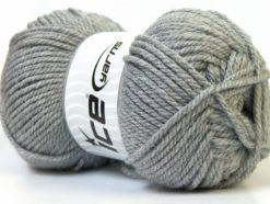 Lot of 4 x 100gr Skeins Ice Yarns Bulky ATLAS Hand Knitting Yarn Light Grey