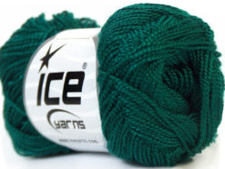 Lot of 10 Skeins Ice Yarns ETAMIN Hand Knitting Yarn Dark Teal