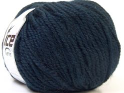 Lot of 4 x 100gr Skeins Ice Yarns ALPACA BULKY (25% Alpaca 35% Wool) Yarn Dark Navy