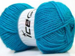 Lot of 4 x 100gr Skeins Ice Yarns ZERDA ALPACA (30% Alpaca 70% Dralon) Yarn Light Blue