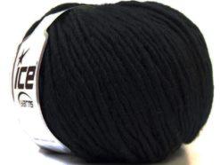 Lot of 4 x 100gr Skeins Ice Yarns FILZY WOOL (100% Wool) Yarn Black