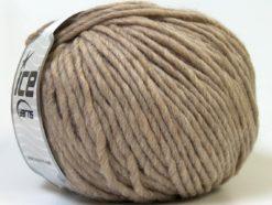 Lot of 4 x 100gr Skeins Ice Yarns FILZY WOOL (100% Wool) Yarn Camel Brown