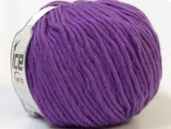 Lot of 4 x 100gr Skeins Ice Yarns FILZY WOOL (100% Wool) Yarn Lavender
