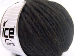 Lot of 4 x 100gr Skeins Ice Yarns PURE WOOL SUPERBULKY (100% Australian Wool) Yarn Coffee Brown