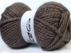 Lot of 2 x 150gr Skeins Ice Yarns SuperBulky ALPINE ALPACA (30% Alpaca 10% Wool) Yarn Camel