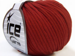 Lot of 8 Skeins Ice Yarns TUBE COTTON (70% Cotton) Hand Knitting Yarn Copper