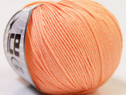 Lot of 8 Skeins Ice Yarns BABY SUMMER (60% Cotton) Yarn Light Salmon