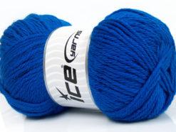 Lot of 4 x 100gr Skeins Ice Yarns SOFTLY BABY Hand Knitting Yarn Blue