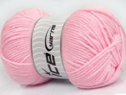 Lot of 4 x 100gr Skeins Ice Yarns SOFTLY BABY Hand Knitting Yarn Light Pink