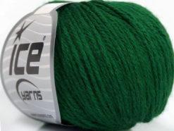Lot of 6 Skeins Ice Yarns BABY MERINO DK (40% Merino Wool) Yarn Dark Green