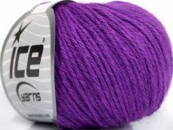 Lot of 6 Skeins Ice Yarns BABY MERINO DK (40% Merino Wool) Yarn Lavender