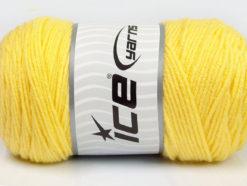 Lot of 2 x 200gr Skeins Ice Yarns SAVER Hand Knitting Yarn Yellow