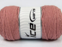 Lot of 2 x 200gr Skeins Ice Yarns SAVER Hand Knitting Yarn Rose Pink