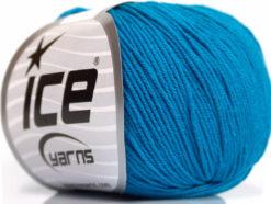 Lot of 4 Skeins Ice Yarns AMIGURUMI COTTON (60% Cotton) Yarn Turquoise