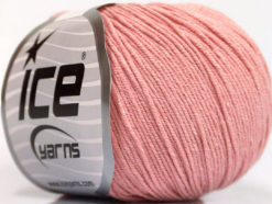 Lot of 4 Skeins Ice Yarns AMIGURUMI COTTON (60% Cotton) Yarn Rose Pink