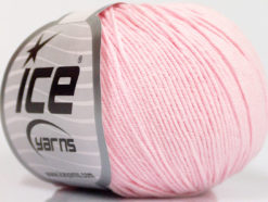 Lot of 4 Skeins Ice Yarns AMIGURUMI COTTON (60% Cotton) Yarn Baby Pink