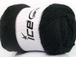 Lot of 4 x 100gr Skeins Ice Yarns NORSK FINE (45% Alpaca 25% Wool) Yarn Black