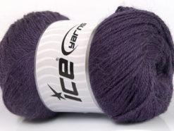 Lot of 4 x 100gr Skeins Ice Yarns NORSK FINE (45% Alpaca 25% Wool) Yarn Purple