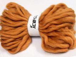 Lot of 2 x 200gr Skeins Ice Yarns JUMBO SUPERWASH WOOL (100% Superwash Wool) Yarn Light Brown