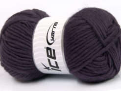 Lot of 4 x 100gr Skeins Ice Yarns FELTING WOOL (100% Wool) Yarn Purple
