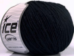 Lot of 8 Skeins Ice Yarns FLAMME WOOL LIGHT (40% Wool) Hand Knitting Yarn Navy