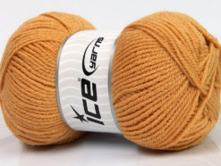 Lot of 4 x 100gr Skeins Ice Yarns GONCA Hand Knitting Yarn Light Brown