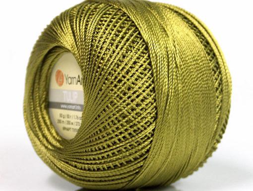 Lot of 6 Skeins YarnArt TULIP (100% MicroFiber) Hand Knitting Yarn Forest Green
