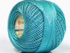 Lot of 6 Skeins YarnArt TULIP (100% MicroFiber) Hand Knitting Yarn Turquoise