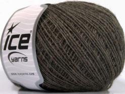 Lot of 8 Skeins Ice Yarns VENERE SOFT Hand Knitting Yarn Dark Camel