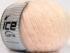 Lot of 8 Skeins Ice Yarns ALPACA SOFTAIR (25% Alpaca 15% Superwash Merino Wool) Yarn Light Salmon