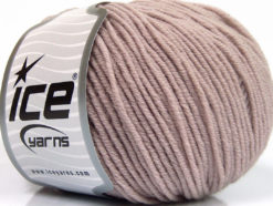 Lot of 4 Skeins Ice Yarns SUPERWASH MERINO EXTRAFINE (100% Superwash Extrafine Merino Wool) Yarn Light Lilac