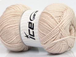 Lot of 4 x 100gr Skeins Ice Yarns ELITE WOOL (30% Wool) Yarn Powder Pink