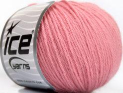 Lot of 4 Skeins Ice Yarns BABY ALPACA (55% Baby Alpaca 45% Superwash Extrafine Merino Wool) Yarn Light Pink